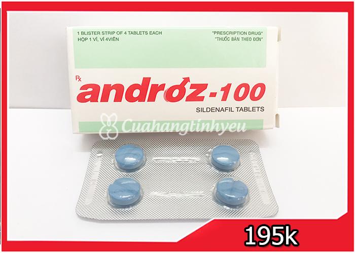 thuốc cường dương Androz 100mg