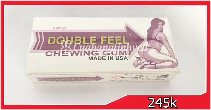 Double Feel Chewing Gum
